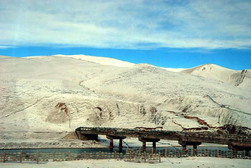 Pociąg do Lhasa wTybecie
