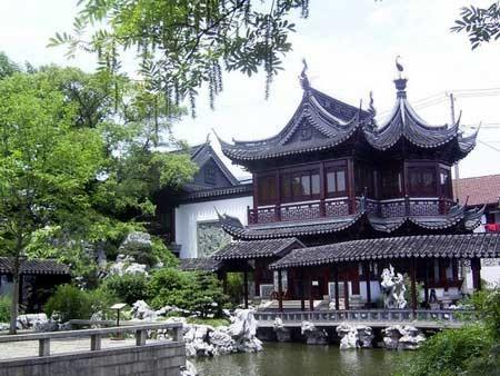 Wycieczka Chiny Ogród wShanghai