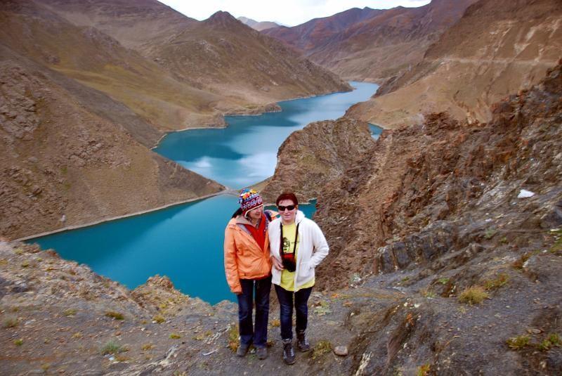 Wycieczka Tybet - Jezioro Yamdrok Tso