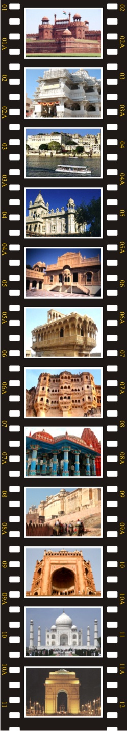 Delhi - Jodhpur - Ranakpur- Udaipur -Ajmer - Pushkar - Jaipur - Fathepur Sikri - Agra -Sikandra - Delhi
