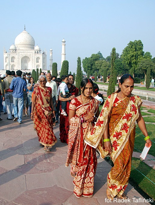 Taj Mahal - Agra w Indiach