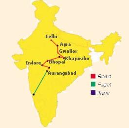 Indie Centralne iZachodnie Wycieczka Indywidualna