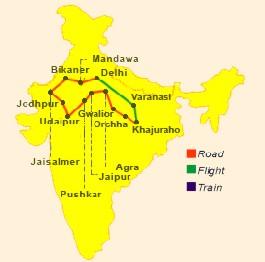 Indie wycieczka indywidualna