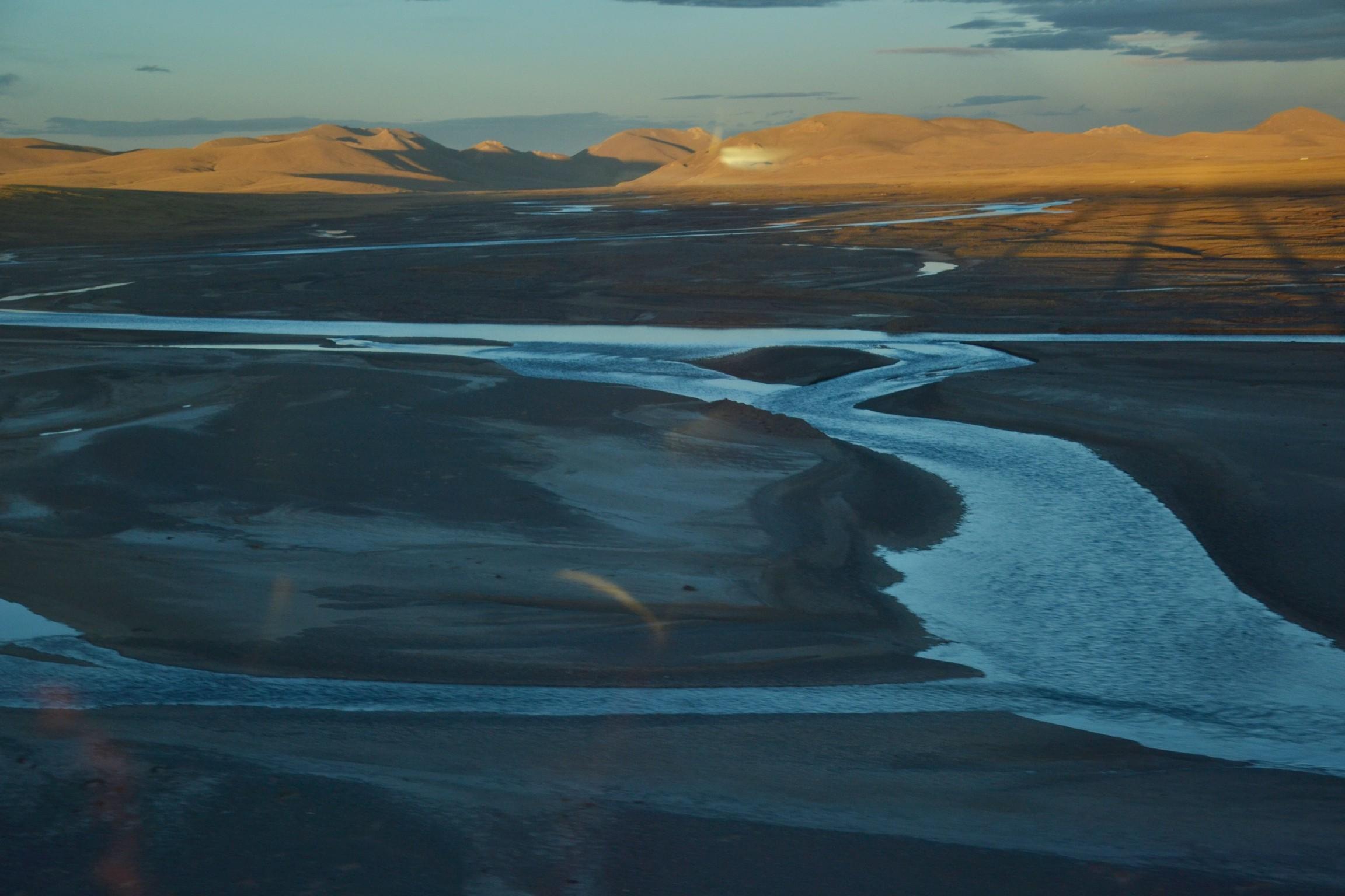 Wyprawy Tybet pociąg