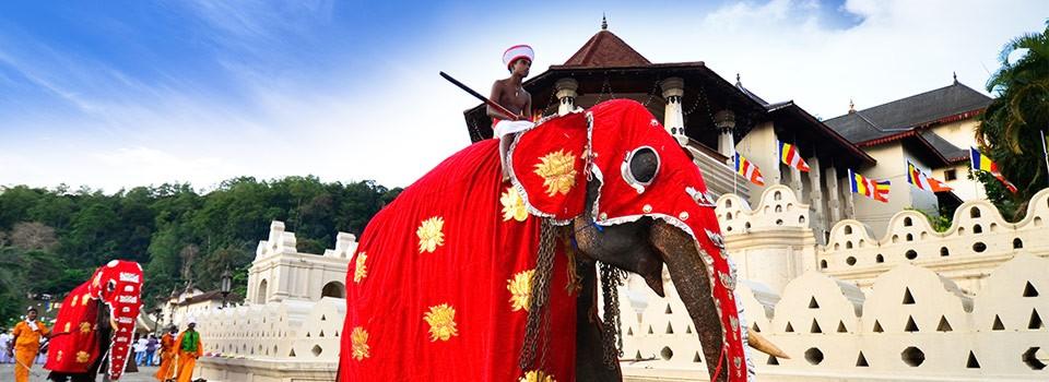 Kandy dawna stolica Sri Lanki