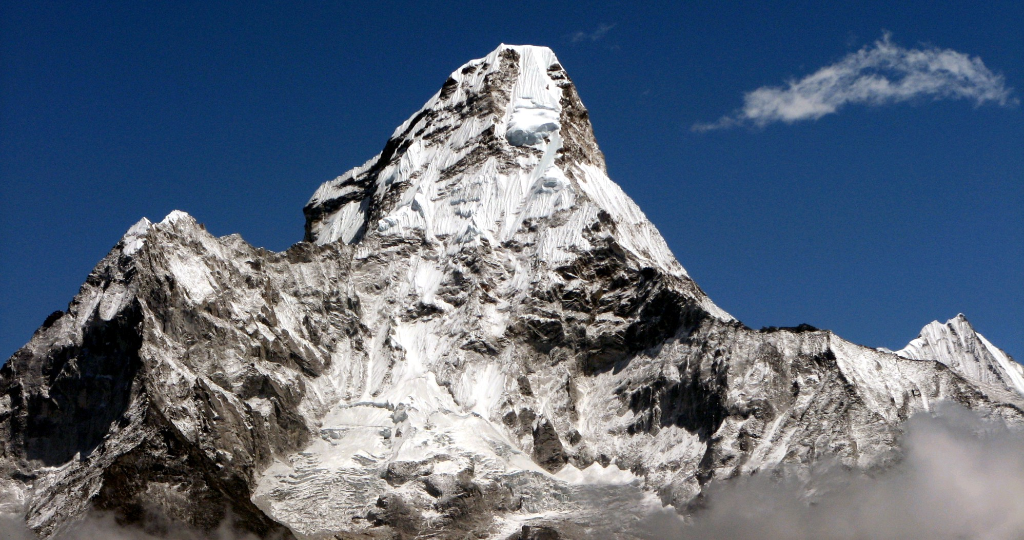 Nepal Treking Everest Base Camp Mt. Ama Dablam